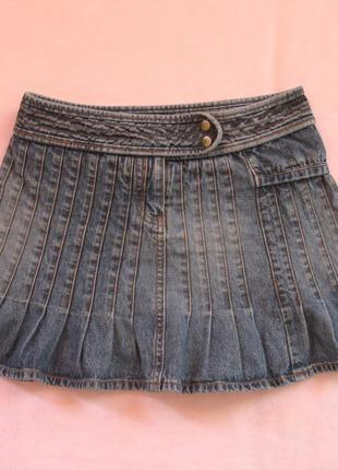Юбка джинсовая на 9-10 лет