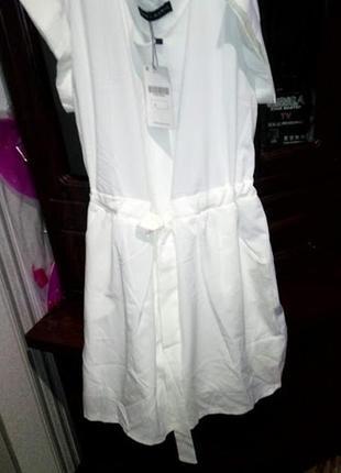 Супер платье белое zara
