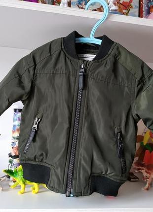 Куртка бомбер next на мальчика 3-6 мес