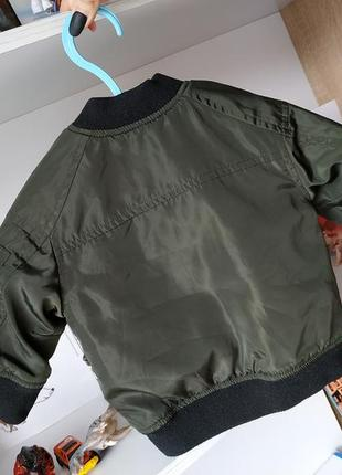 Куртка бомбер next на мальчика 3-6 мес3 фото