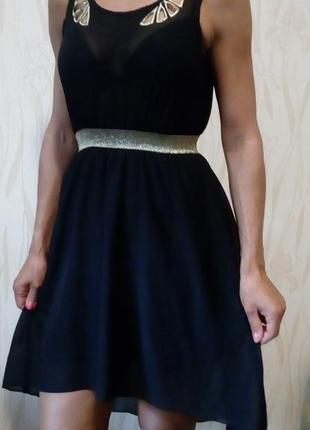 Мега стильное шифоновое платье rage.