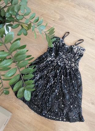 Платье в палетках на выпускной