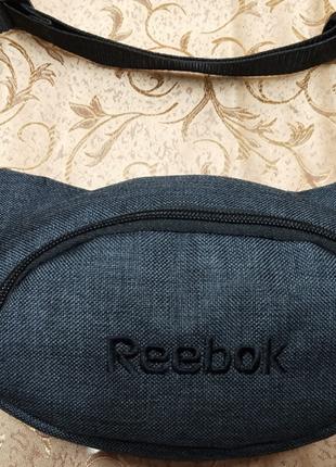 Сумка на пояс, бананка, поясная сумка в стиле  reebok
