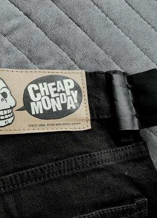 Новые джинсы унисекс от культового бренда cheap monday3 фото