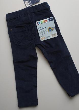 Вельветовые штаны на мальчика 92 см германия