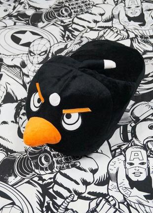 Тапочка-грелка птица из игры angry birds