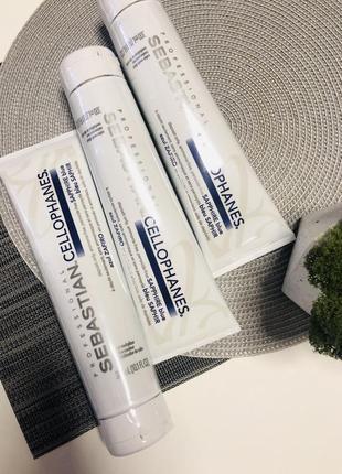 Ламинирование волос sebastian laminates cellophanes 300мл. -оригинал usa