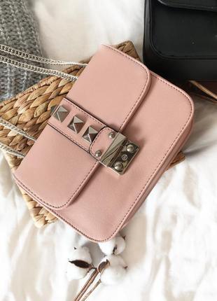 Трендова сумочка кроссбоді на цепочці