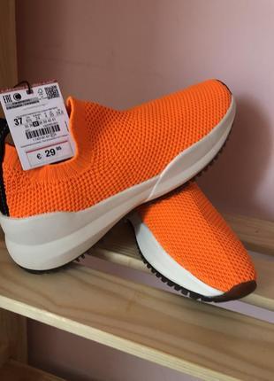 Кроссовки носки зара( zara)