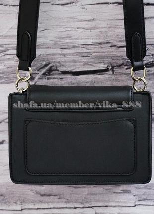 Клатч с вышивкой, сумка через плечо david jones 5997 черный4