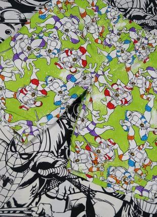 Плавательные шорты с принтом черепашки ниндзя teenage mutant ninja turtles