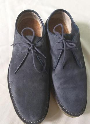Мужские туфли clarks размер 45