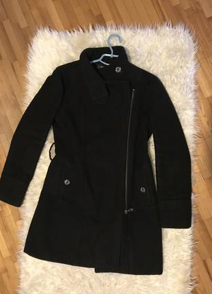 Пальто-жакет  на молнии с карманами, размер m-l