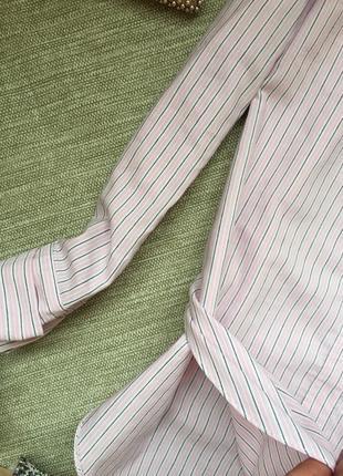 Рубашка со спущенными плечами2 фото