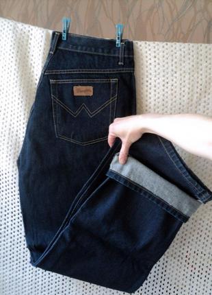 Брендовые плотные джинсы, 100% хлопок wrangler турция w40l34