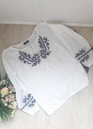 Нежная рубашка вышиванка м-л yessica