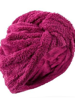 Шапка-полотенце для волос из мягкой микрофибры. бренд nabaiji франция