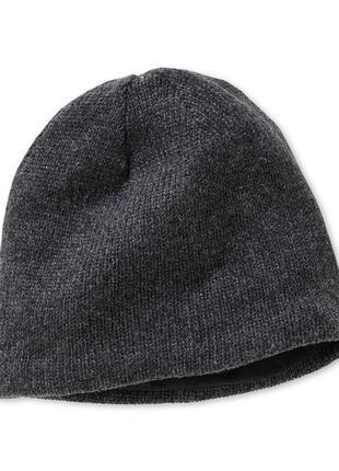 Отличный выбор для повседневного ношения - шапка на флисовой подкладе tchibo - зима - деми1 фото