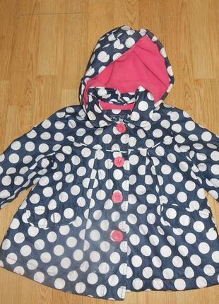 Куртка-ветровка на девочку 2 года