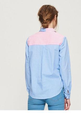 Рубашка разноцветная новая