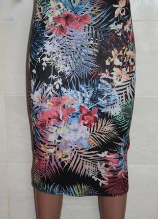 Неопреновая юбка miss selfridge в состоянии новой м