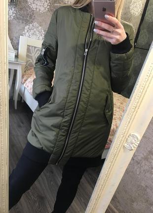 Куртка на  очень тонком синтепоне
