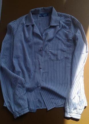Легкая блузочка  в полоску
