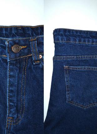 Джинсы момы бойфренды высокая посадка мом mom fit jeans.4 фото