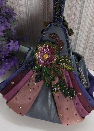 Уникальная вечерняя сумка mary frances, сша. оригинал!