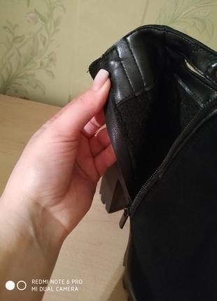 Ботиночки замшевые3 фото