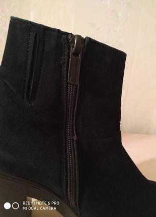 Ботиночки замшевые4 фото