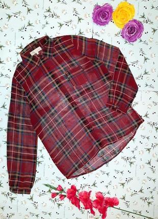 Акция 1+1=3 фирменная модная блуза в клетку cameo rose, размер 46 - 48