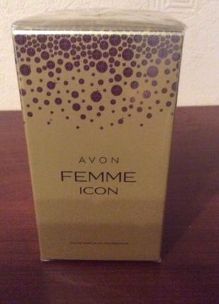 Avon femme icon духи парфюм парфюмированная вода подарок эйвон