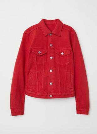 Джинсовая куртка. размер 38