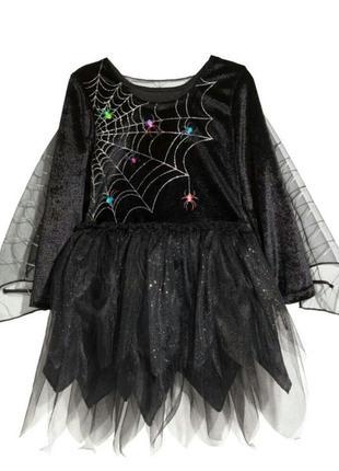 Карнавальное платье h&m и колготки в комплекте.