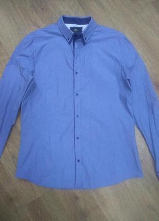 Рубашка next (slim fit)