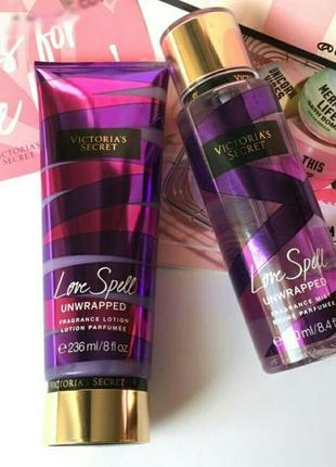 Набор love spell victoria's secret