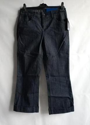 Женские укороченные джинсы немецкого бренда c&a сток из европы, m-l