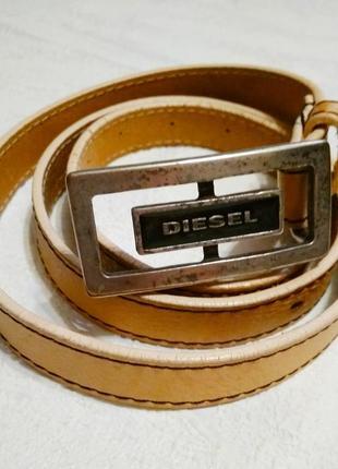 Diesel. кожаный ремень