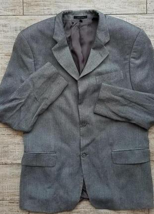 Стильный вискозный пиджак zara man размер usa 42