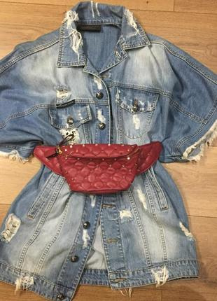 Джинсовый пиджак philipp plein