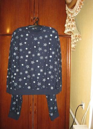 Пижама next, 100% полиестер, размер xl/xxl, коллекция 2017 года
