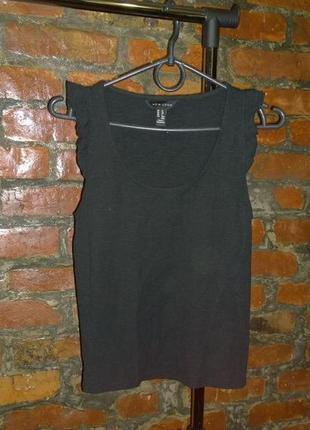 Топ блуза кофточка с рюшей new look1 фото