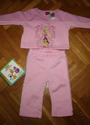 Теплый фирменный костюм на 6-9, 9-12 месяцев. disney