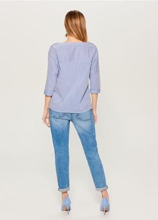 Весенние джинсы  голубые стрейчевые2 фото