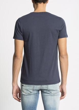 Синяя мужская футболка lc waikiki / лс вайкики с надписью harmony4 фото