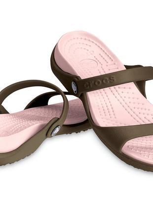 Сандалии шлепки женские crocs оригинал крокс