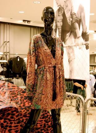 Короткое платье с карманами fashion against aids h&m