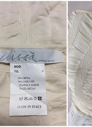 Итальянский топ майка из шёлка и вискозы фантастический авторский дизайн2 фото