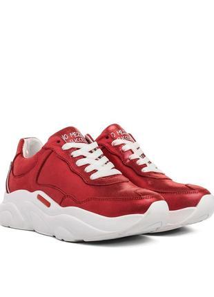 729тз женские кроссовки ditas,кожаные,на шнурках,на толстой подошве,на низком ходу